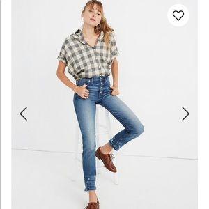 Madewell Slim Straight Jeans 26